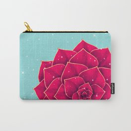 Big Holidays Christmas Red Echeveria Design Carry-All Pouch