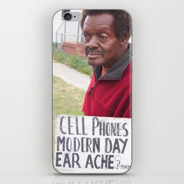 Modern Day Ear Ache iPhone Skin