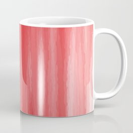 Red- ombre watercolor pattern! Coffee Mug