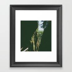 Peaking Through Framed Art Print