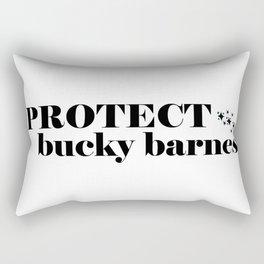 Protect Bucky Barnes Rectangular Pillow