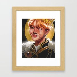 King Hobi Framed Art Print