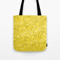 sunflowers Tote Bags featuring Sunflowers by Simi Design