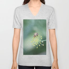 Bee and the fennel Unisex V-Neck