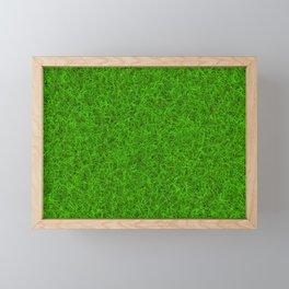 Green Grass Framed Mini Art Print