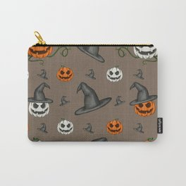 pumpkins&witches Carry-All Pouch