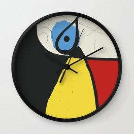 Joan Mirò #8 Wall Clock
