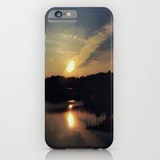 Sunset, Lake lanier iPhone 6s Slim Case