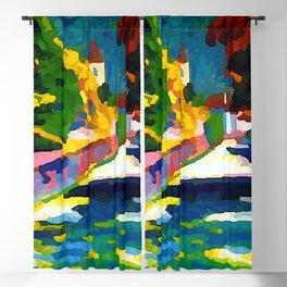 Wassily Kandinsky Autumn in Bavaria Blackout Curtain