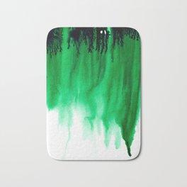 Emerald Bleed Bath Mat