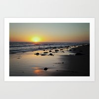 Emmawood Sunset  Art Print