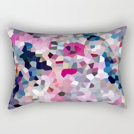 Pink Moon Love Rectangular Pillow