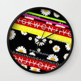 GD & KJY Wall Clock