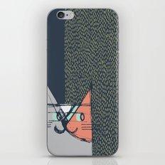 Cubist Cat Study #1 by Friztin iPhone Skin