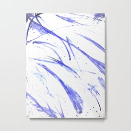 BLUAbstract Metal Print