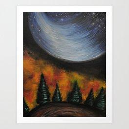 Dusk in the Taiga Art Print