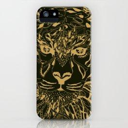Golden Tiger iPhone Case