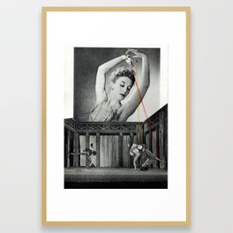 Puppets Framed Art Print