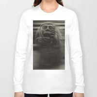 medieval Long Sleeve T-shirts featuring Medieval angst by Mark Nelson