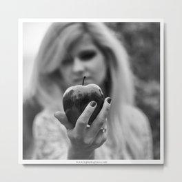 La Pomme Metal Print