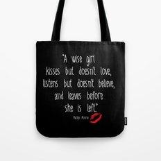 Esperantos Quotes #1 (Marilyn) Tote Bag