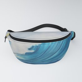 Big Wave Surfing Painting Fanny Pack