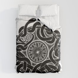 Tangled Serpents at Midnight Comforters