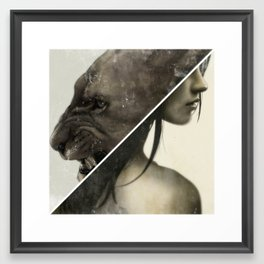 Live To Win. Framed Art Print