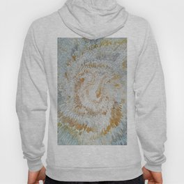 Abstract gold roses Hoody