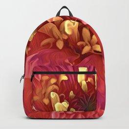 Pink Zinnia Backpack
