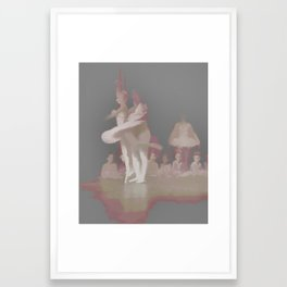 Ballerinas Dancing Framed Art Print