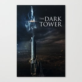 Dark Tower Poster Canvas Print