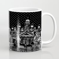 finland Mugs featuring Finland by Matt Ferguson