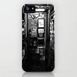 midnite call london iPhone Case