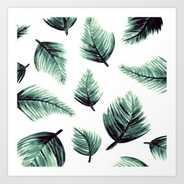 Danae-Leaves in the air Art Print