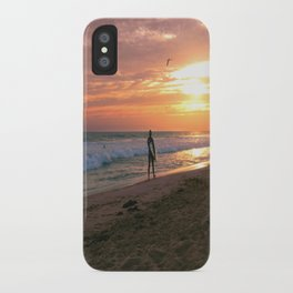 Setting Sun  iPhone Case
