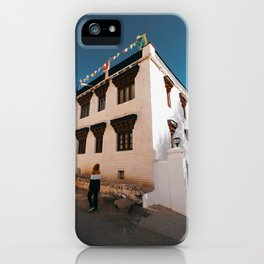 Buildings of Leh City iPhone Case