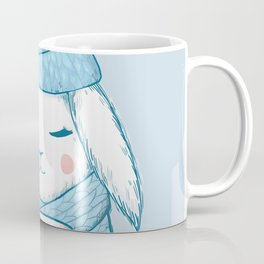 Winter Rabbit Coffee Mug