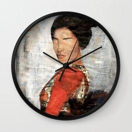 Geisha/Newspaper Serie Wall Clock