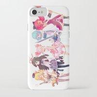 madoka iPhone & iPod Cases featuring Madoka by sarlisart