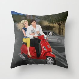 roman crazy Throw Pillow