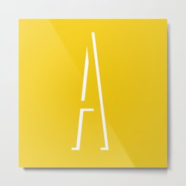 The Letter A Metal Print