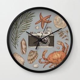 Summer Beach Collection Wall Clock