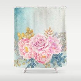 Flowers bouquet 75 Shower Curtain