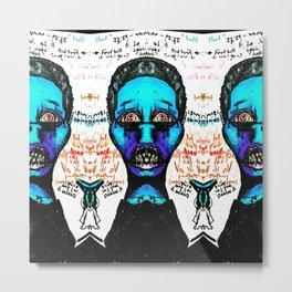 sister  psychosis  Metal Print