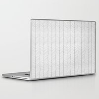 herringbone Laptop & iPad Skins featuring Herringbone by EtOfficina