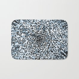 Blue Block art Bath Mat