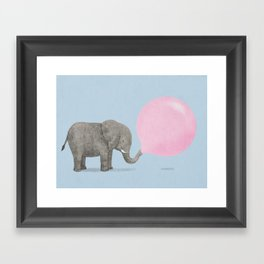 Jumbo Bubble II Framed Art Print