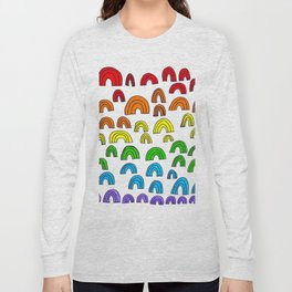 Rainbow Meta Long Sleeve T-shirt