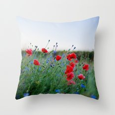 Mohntag II Throw Pillow